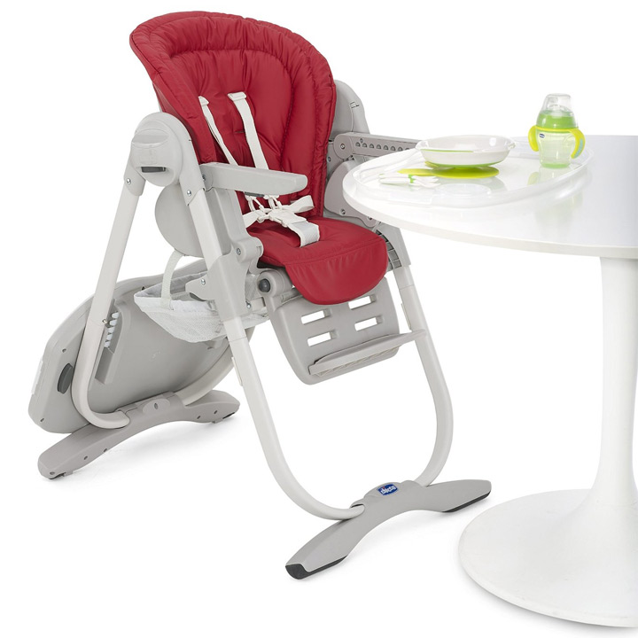 "CHICCO 2016 Polly Magic ""Paprika"" 3 in 1 High Chair 0"