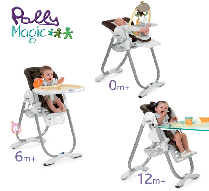 Chaise haute chicco polly magic les bons plans de micromonde - Chicco chaise haute 3en1 polly magic ...
