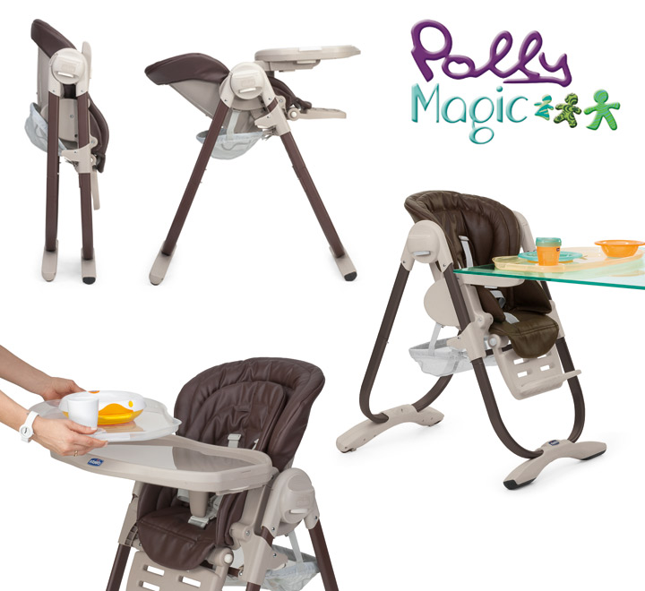 chicco chicco polly magic 3 in 1 high chair 0 months. Black Bedroom Furniture Sets. Home Design Ideas