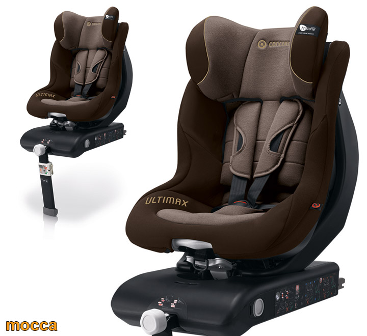 concord si ge auto groupe 0 1 ultimax isofix mocca ebay. Black Bedroom Furniture Sets. Home Design Ideas