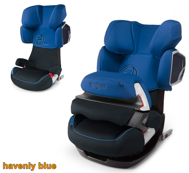 cybex 2013 siege auto gr 1 2 3 pallas 2 fix isofix havenly blue ebay. Black Bedroom Furniture Sets. Home Design Ideas