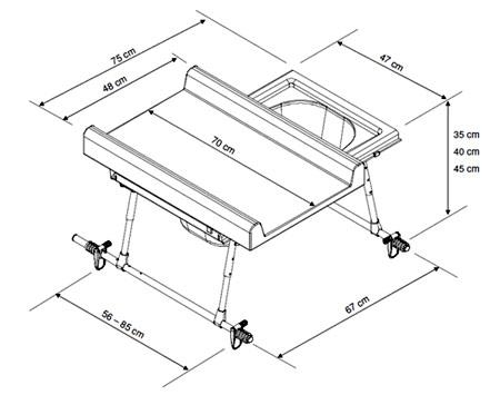Table a langer dimension